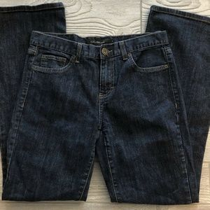 Calvin Klein Flare Fit Stretch Jeans Size 8